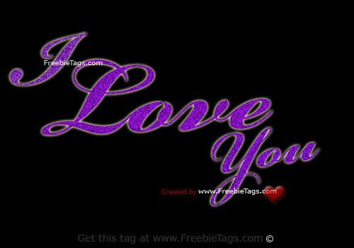Tag you friends I love you facebook tag