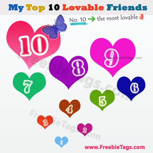 10 friends: